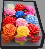 Бант роза для подарка подарочной упаковки