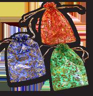 Мешочки из органзы для подарков