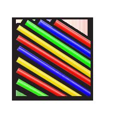 Палочки для крепления воздушных шаров