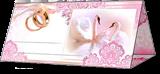 Свадебные банкетные карточки