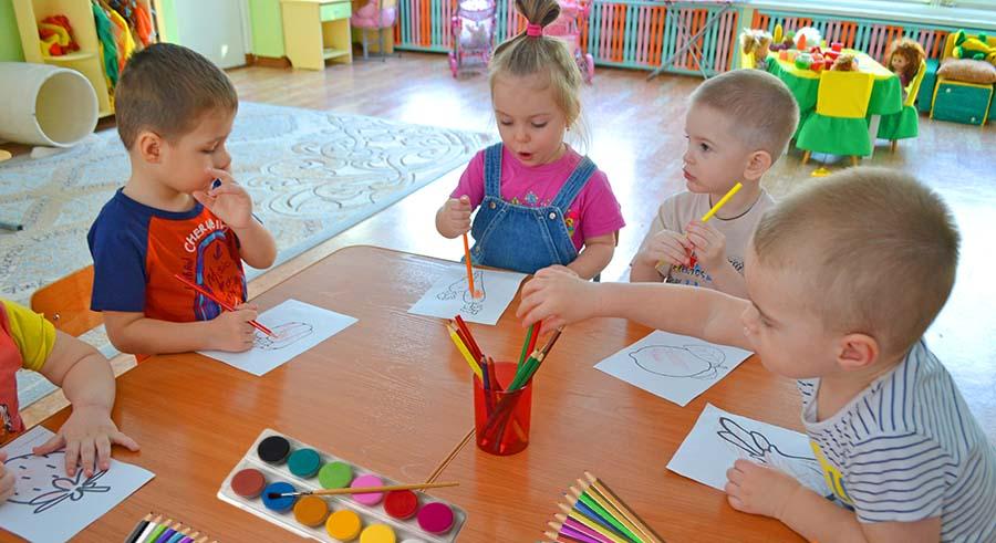 Раскраски для детского сада