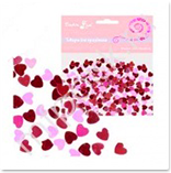Конфетти сердечки 14 февраля